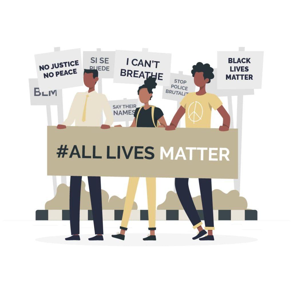 Derechos Civiles - All Lives Matter